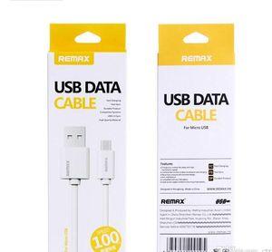 Remax tipo-c Cavo USB di ricarica rapida cavo di sincronizzazione di dati con imballaggio al dettaglio per tipo-c micro usb androide samsung