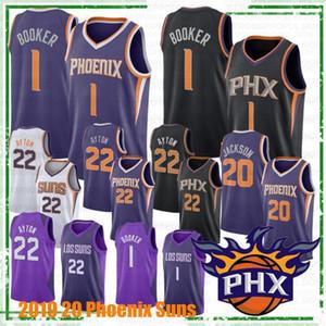 NCAA 19 20 Charles 34 Barkley Koleji Basketbol Formalar Steve Nash 13 DeAndre 22 Ayton Devin 1 Booker Josh 20 Jackson En sıcak Erkekler Formalar