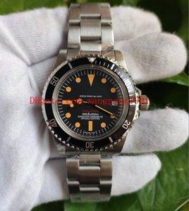 High quality Antique version watch 40mm SUB black dial Aluminum bezel DATE 316L Asia 2813 movement mechanical automatic men's watch watches