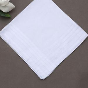 New White color Headscarf Cotton Kerchief Men Women Neckerchief Square Bandanas Scarf For painting bandhnu Free Shipping