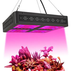 600W quadratische LED wachsen Lichter Wachsen Lampen Vollspektrum mit UV-IR-Growing Leuchten für Hydroponik-Gewächshaus Wasserpflanzen