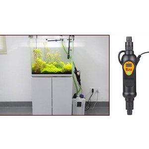300W 500W Aquarium Fish Tank External Constant Temperature Heating Heater LCD Monitor Aquarium Standard Temperature Adapter