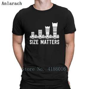 Funny Photography Lens Size Matters T Shirt Gift Summer Style Knitted Tee Shirt Trend Plus Size 5xl Male Building Shirt