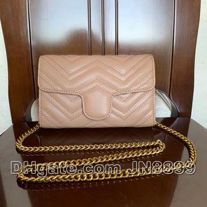 Vendita di modo Borse a tracolla delle donne dell'annata Designer Borse Borse Portafogli di Borsa in pelle a catena Donne Crossbody Bag 5 colori 21X13X5CM