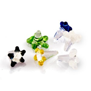 Formax420 20pcs 50pcs Daisy Style Flower Glass Screen for Pipes Assorted Colors