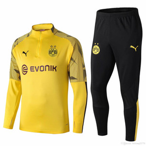 Borussia Camisetas REAL MADRID AJAX Maillot pied Football maillot de Survêtement de jogging chandail de soccer survetement chandal 2019 Survêtement