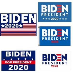 Biden 2020 Flag Sticker Set Donald Presidente Corpo de carro adesivos Mantenha a tornar a América Grande Partido Home Decor bandeira 5111 # 466