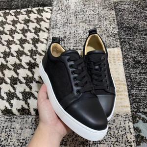Nova Chegada Marca Orlato Homens Sneakers Flats, Vermelho Bottom Negro Lona Baixa Top Casual Homens Skateboarding Comfort Treinadores Casuais Comfort