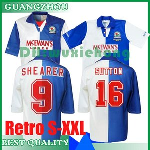 1994 1995 Blackburn Rovers retrò maglia da calcio 94 95 Blackburn Alan Shearer Sutton Hendry SHERWOOD BERG epoca maglia da calcio classico S-XXL