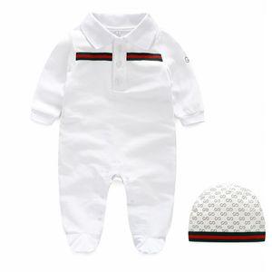 2019 new Baby Onesies Primavera e autunno manica lunga manica corta rom bambini arrampicata pigiama base per bambini 0-24 mesi