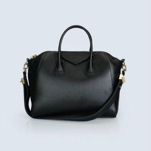 Crossbody Handbag 2020 Frete grátis Senior Designer Preto clássico do ouro Moda mulheres Hardware saco de couro
