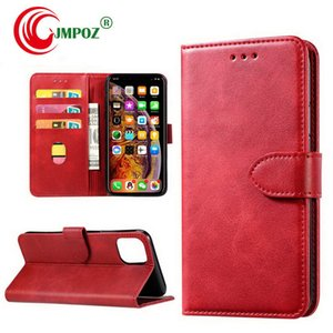 For iPhone 11 Pro Xs Max Xr Wallet Cover Case PU Leather Phone Back Case Cover with Card Slots for Samsung Note10