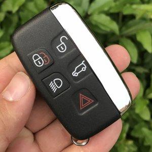 5 boutons intelligents à distance sans clé Key Fob Land Rover Ranger Rover Evoque Key Case Discovery 4 Freelander Evoque clés Shell