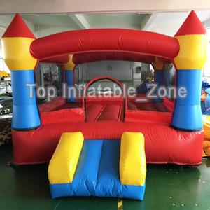 Bounce House with Slide Obstacle Niños Salto al aire libre Castillo con soplador Trampolín inflable Big Bouncer para niños Juguetes