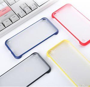 Samsung Galaxy Note 10 artı / notu 9 / Not 8 vaka çift renkli buzlu kapak kapaklar TPU + pc hoesje etui tok kryt için çerçeve tampon mat vaka