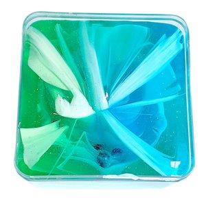 Красивая радуга Облако Слизь Вода Слизь Дети Kid смешной подарок прозрачный клей для Slime Кристалл Mud Play #B