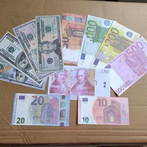 Euro Falschgeld Banknoten Prop Geld Papier 200 500 Euro Bills Preis Bank Note Business-Geschenke Gefälschte Banknoten