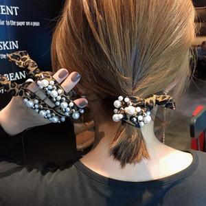 Novo Estilo Japonês Departamento Headband por Mulheres Cabelo de Amarrar Hairband Hipster simples fresco Hairband online celebridade Leop