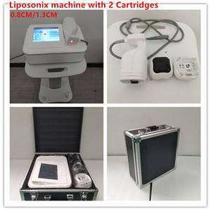 Hot Sale 0.8cm Forma 1.3cm Body Fat Removal envio portátil LipoSonix máquina de ultra-som emagrecimento Sistema DHL grátis