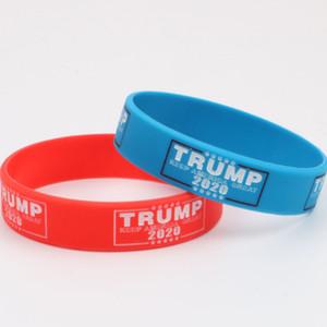 Trump 2020 Silikon-Armband Make America Great Again Brief Silikon-Armband Donald Trump Supporters Armband Armbänder Geschenk VT0543
