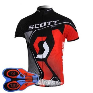 Best Scott Team Cycling Short Sleeves Jersey (Bib )Shorts Sets Spring And Summer Bike Jersey Suit Men \&#039 ;S Quick Dry Bicycle Clothing