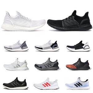 adidas Zapatillas de deporte 2020 ultra boost para hombres, mujeres, runner triple negro blanco Walker Oreo Panda ultraboost para hombre, zapatillas de deporte al aire libre