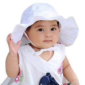 Baby Hat New Cute Baby Wide Brim Sun Hat Kids Ear Bucket Cap Bonnet Cool Summer Children's Outdoor Sun 6-36M