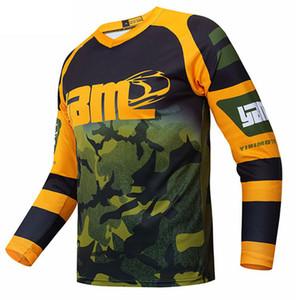 Moto equitazione T-shirt speed riding-drop vestito di sport esterni del vestito camicia a maniche lunghe ad asciugatura rapida traspirazione