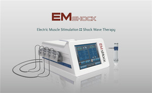 Portable ESWT Shock Wave Therapy extracorporelle onde de choc machine ED traitement de choc / EMS vague slimulation pour minceur physiothérapie