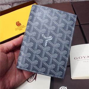 Goyarrd Goyar Marque nouveau package de portefeuille titulaire de la carte de crédit titulaire du passeport de haute qualité Passeport Voyage Bi-Fold Porte-ID