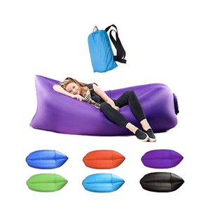 Sleep Bag Lazy Inflatable Sofa Outdoor Lazy Self Inflated Sofa Sleeping Bags Garden Sets Inflated Inflatable bed ST501