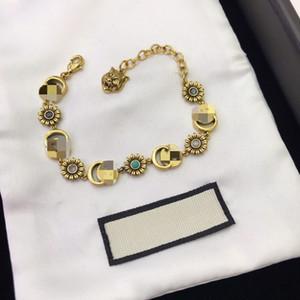 Nueva alta calidad diseñador de la flor multicolor pulsera pulsera de mujer 2019 de la joyería de lujo de diseño de moda de estilo popular