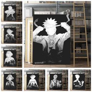 캔버스 포스터 사진 홈 인테리어 포스터에 애니메이션 ONE PIECE 벽 아트 페인팅 인쇄 M512 그림 캔버스