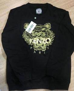 tigre bordados cabeça algodão camisola ponte jaqueta dos homens quente / feminino tracksuits hoodies camisolas tamanho S-2XL melhor preço