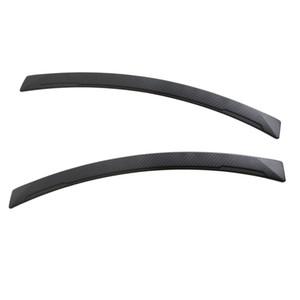 Paar Auto Fender Flares Arch Rad Augenbraue-Streifen-Schutz-Borte-Carbon-Faser