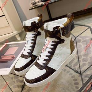 Louis Vuitton Shoes 2020 الرجال والنساء النساء الرجال BOOMBOX حذاء BOOTshoes 1A5MWJ والأحذية الرياضية والاحذية أعلى جودة hococal جديد