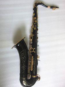 Совершенно новый Япония Янагисава T-902 модель Bb тенор черного золота саксофона с производительностью Музыкальные инструменты Профессиональный тенор саксофона