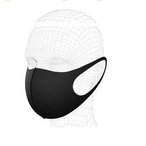 Toptan Buz İpek Pamuk Bisiklet Yüz Kül Ağız Kapak PM2.5 Anti Toz Bisiklet Bisiklet Windproof Yeniden kullanılabilir Yüz Maskesi LXL1418 Maskesi