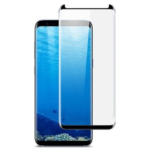 3D Curved Tempered Glass Screen Protector For Samsung Galaxy S8 Plus