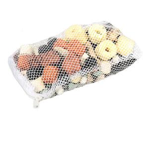 El anillo de cerámica práctica Fish Tank multifunción Clear Water Filter Inicio Purificar Accesorios acuario carbón activado SH190925