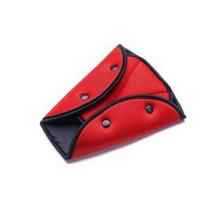 Car Seat Belt Triangle de sécurité Clip Boucle Porte-ceinture de sécurité voiture universel enfant enfants Seat Cover Protéger régleur bébé