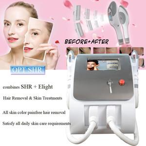 High Power OPT SHR schnelle Haarentfernung IPL-Maschine E-Licht Haut-Verjüngungs-Akne-Behandlung Pigmentation-Therapie