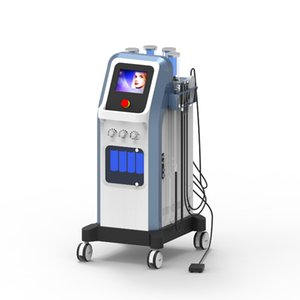 8 Bar Oxygen Jet Peel Water جلدي Hydradermabrasion 7 في 1 تكنولوجيا إسرائيل Hydra Face Microcurrent Oxygen Injector SPA آلة CE