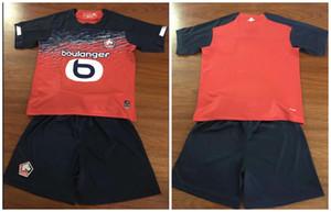 hombres niños kit 2019 LOSC Lille camisetas de fútbol local visitante tercero 2019 2020 liga de campeones Pépé Maignan BAMBA Celik leao Remy camiseta de fútbol