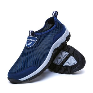 Men's Casual Shoes Outdoor Leisure Shoes Mesh TPR Soles Breathable and Comfortable Sports Running Men's Fashion Sneakers