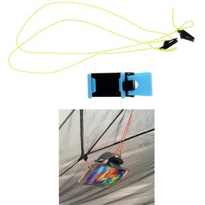 야외 캠핑 하이킹 비치 텐트 동영상 감상 DIY 휴대 전화 홀더 매달려 그립 클립