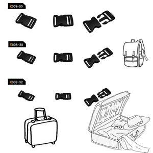 Пластиковые безопасные пряжки с боковой фиксацией для браслета Paracord / рюкзака / ремня / багажных ремней / ошейника / лямки DIY craft 15/20/25 / 32mm