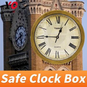 Coffre-fort horloge boîte Escape salle prop masquer les indices dans la boîte boîte inattendue de la vie réelle chambre fournisseur élément de jeu secret YOPOOD
