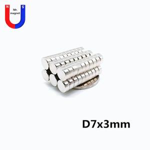 200pcs 7mm x 3mm Super strong magnet, D7x3mm 7x3 7*3 D7*3 permanent magnet Iman 7x3mm rare earth magnet Imans