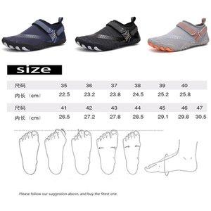 Chaussures en plein air Plage eau MenWomen Chaussures Aqua séchage rapide légère respirante en caoutchouc Sports de plein air professionnel eau Sneake